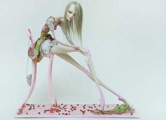 Fantastic porcelain dolls made by artist Sasha Petrov