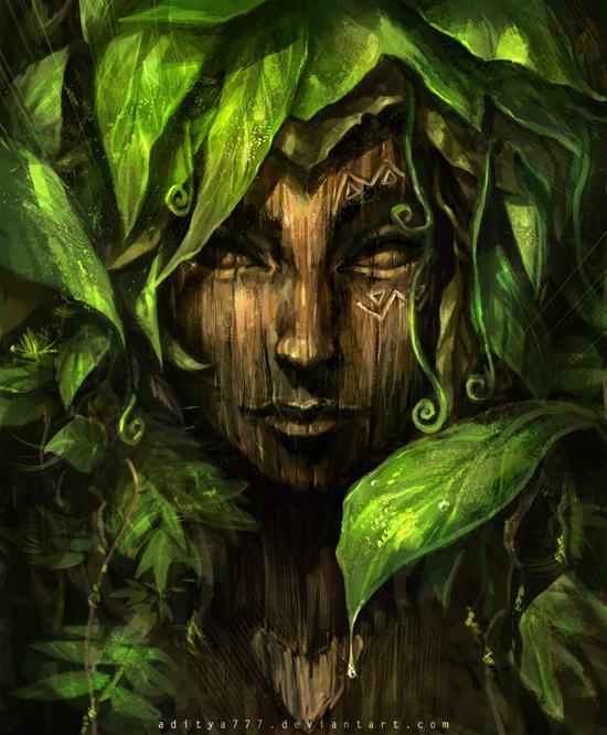 Fantasy portraits by digital artist aditya777