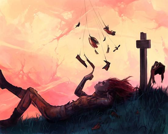 Return to innocence, illustrations by Cyril Rolando (aquasixio)