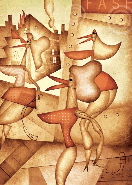 Daniel Bueno, illustrator, graphic and comics artist