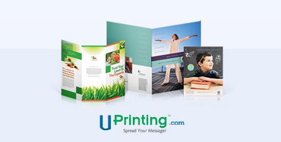 UPrinting Giveaway: 50 Brochures