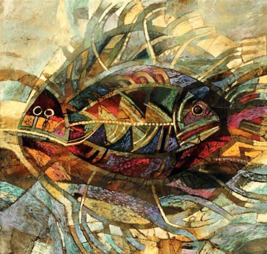 Alexander Daniloff: paintings