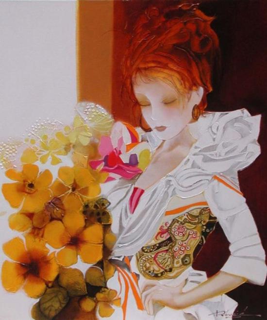 Paintings by Joël Rougié