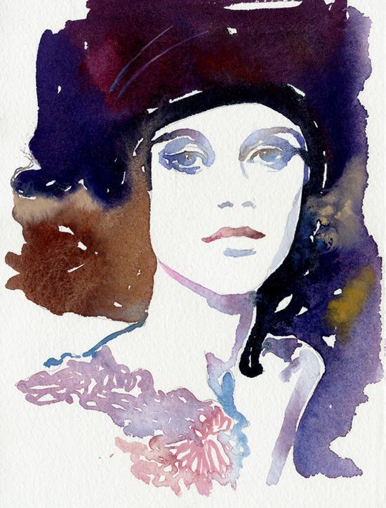 Cate Parr: fashion illustrations