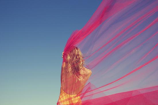 The Red Tulle by Yulia Gorodinski