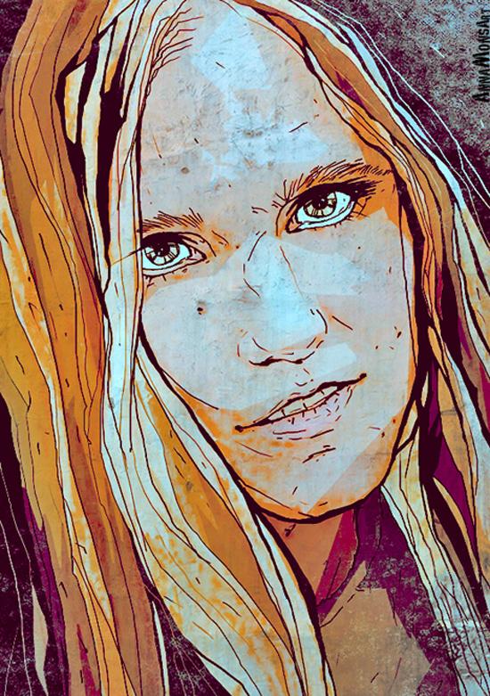 Digital art by Anna Ulyashina