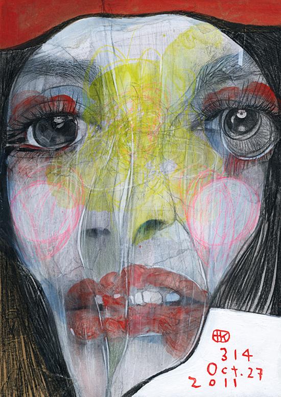 Broken 1000 faces by Takahiro Kimura