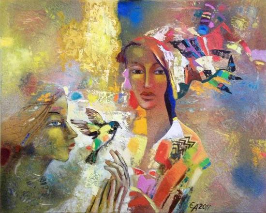 Evgeni K. Andreev, paintings