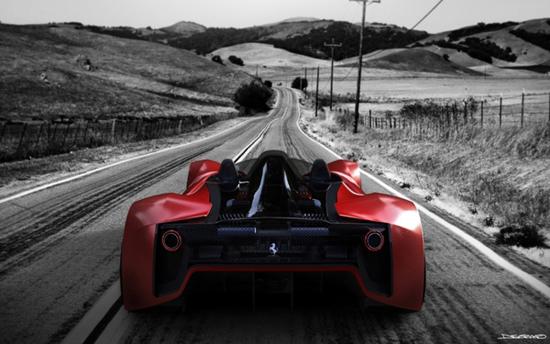 Ferarri Aliante, concept by Daniel Soriano Lopez