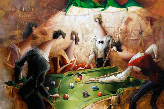 Amazing harmony and joys of life: paintings by Nathan Brutsky