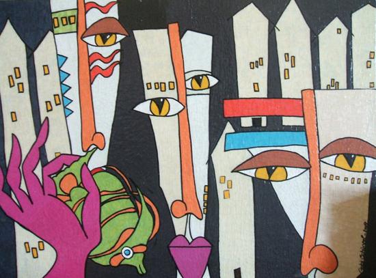Paintings by Gabi Schünzel