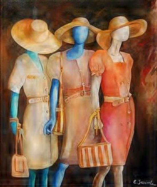 Donne in Vetrina by Enrico Frusciante