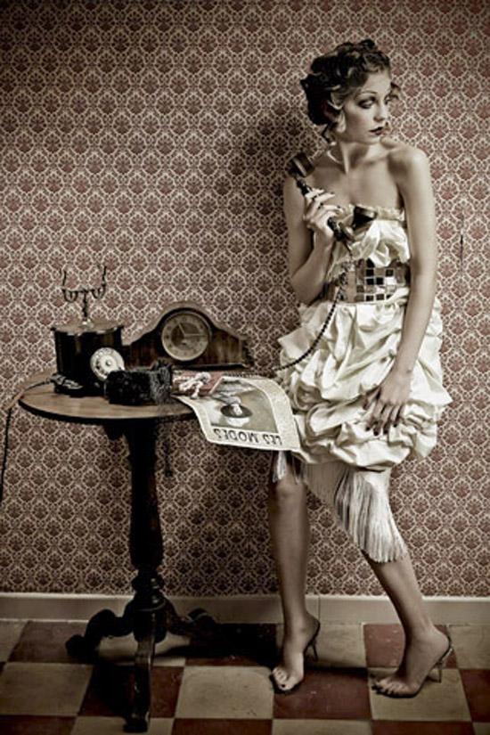 The last evening dress, project by Alessio Federico and Barbara Pichiecchio