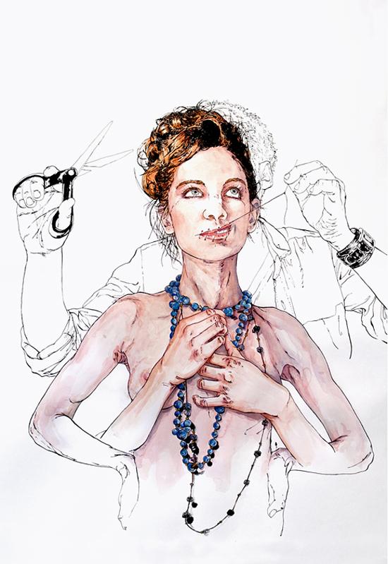 Illustration by Matthieu Appriou aka Telmolindo