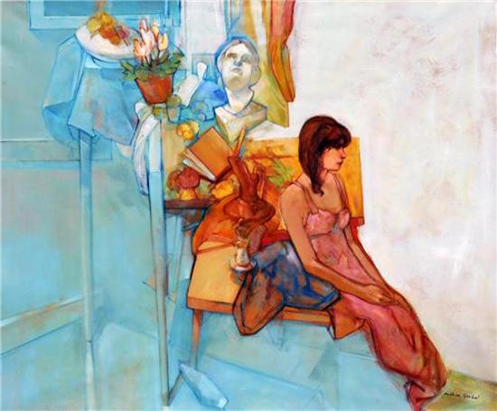 Paintings by Mahir Güven