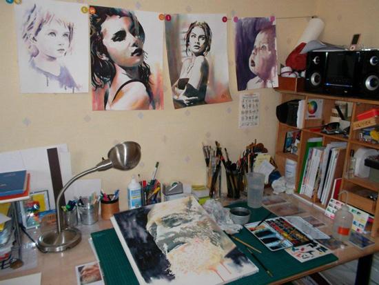 Olivier Bartoli, paintings