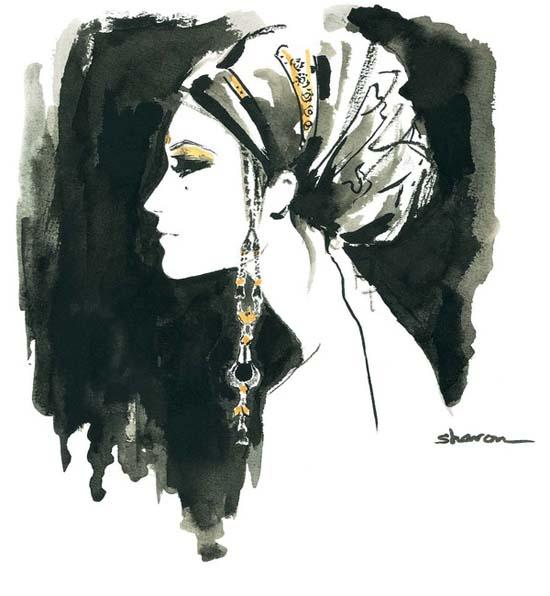 ZOYA, paintings by Sharon Nayak