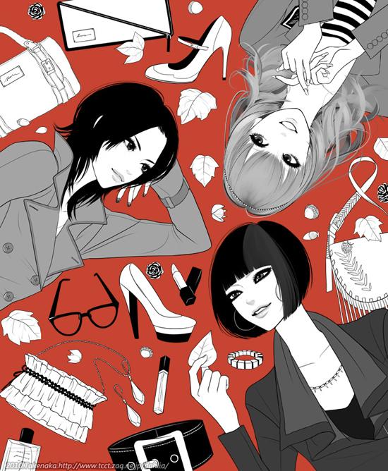 Gorgeous artwork by Japanese illustrator Takenaka