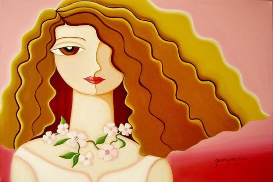 Georgia Kapetanaki, paintings