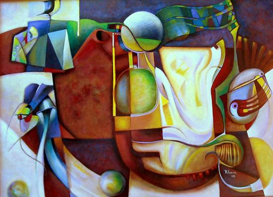Abstract art by Roy Evans Miranda