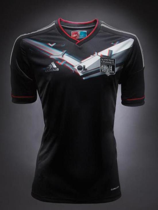 Lyon and Adidas unveil new '3D' European Kit