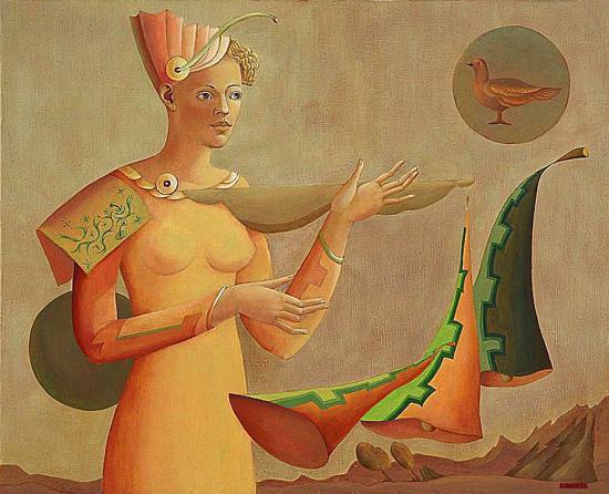Paintings by Lilita Postaža