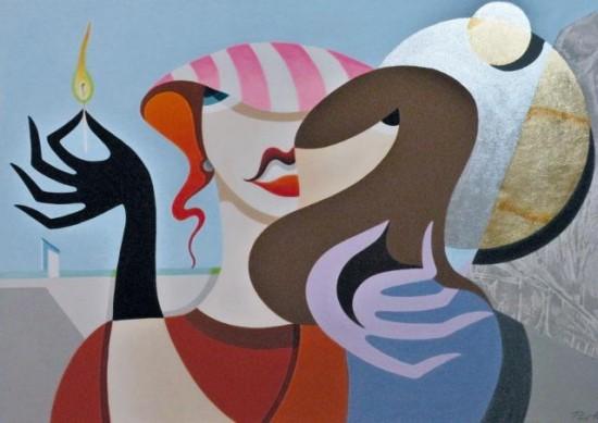 Roberto Pinetta, paintings
