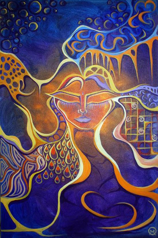 Michelle Oravitz, fine art