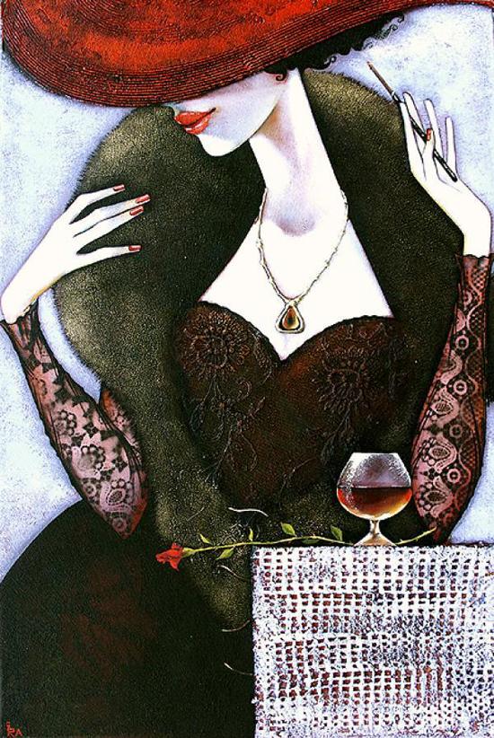 La Femme Fatale, images of woman by Ira Tsantekidou