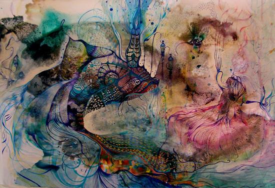 Estela Cuadro, illustration