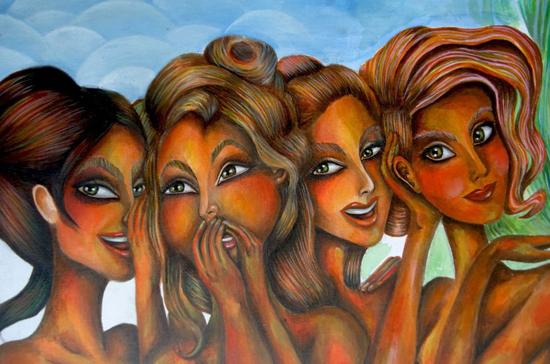 Paintings and drawings by Joset Medina