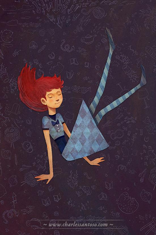 Art of Charles Santoso: illustration series, Kinokuniya Bookstore 2011