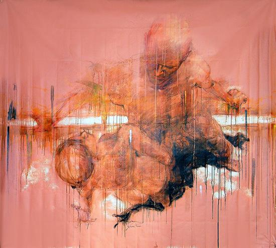 Paintings by Xolotl Polo
