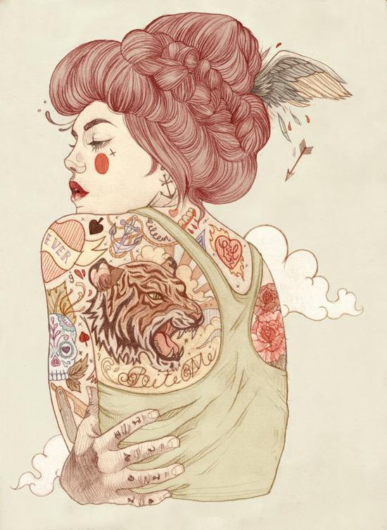 Liz Clements, illustration