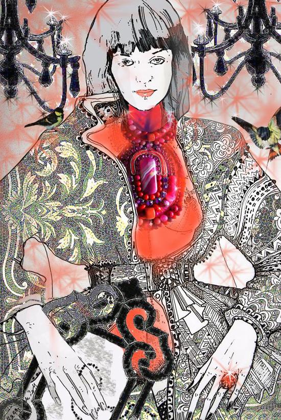 Maggie Piu, fashion illustrator