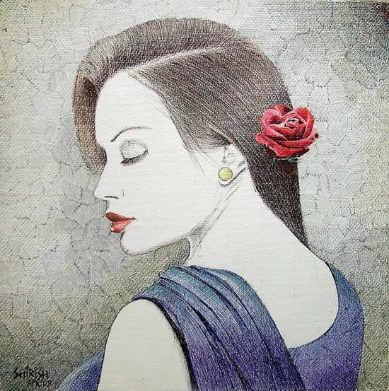 Ballpoint pen art by Shirish Deshpande