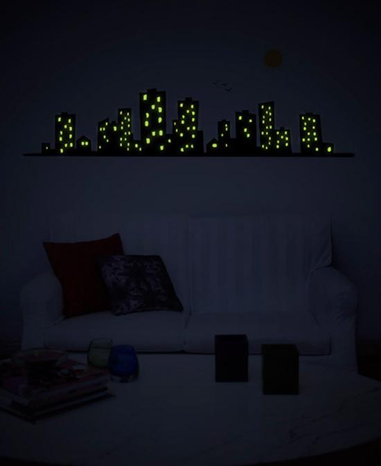 Cute glow in the dark, stickers by Gecko Stickers