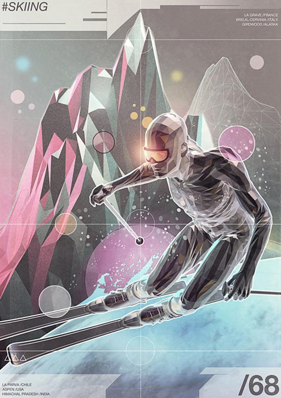 Hyper sports, illustration by Giampaolo Miraglia