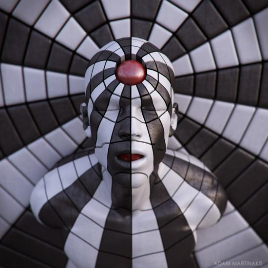 3D art by Adam Martinakis
