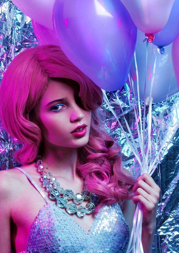 Pink Lady by Viktoria Stutz