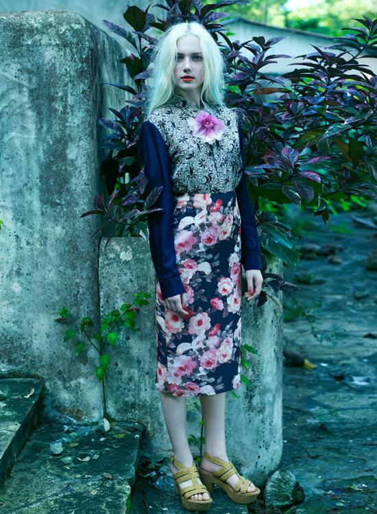 Fleur Bleue, project by Cloe Legault