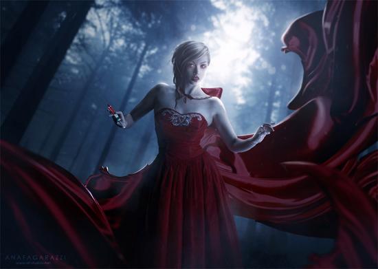 Fantasy, photo-manipulation by Ana Fagarazzi