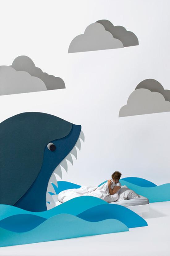 Carolin Wanitzek: The Border, whimsical dreamworlds created by cardboard