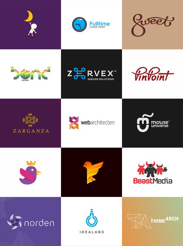 Logo design portfolio of Utopia branding agency