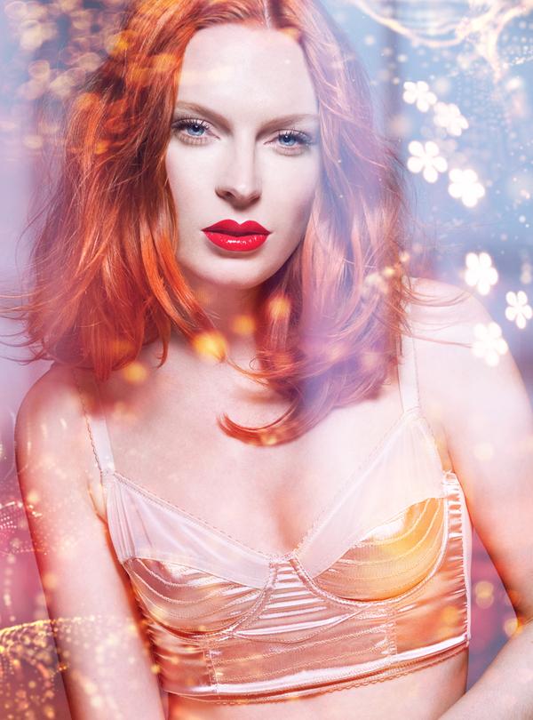 Illumination, beauty editorial by Joanna Kustra