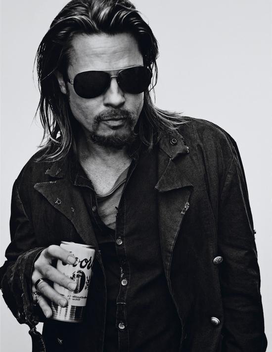 Brad Pitt by Steven Klein for Interview Magazine