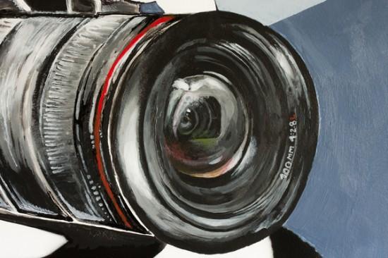 Art project: 'Shoot!' by Pauline Rooze, Esther Beeckaert, Ben Goovaerts