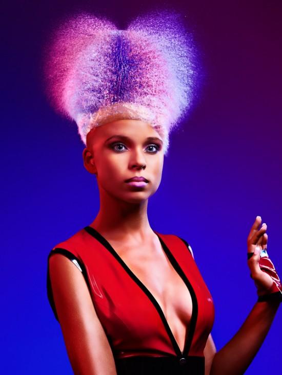 Water wigs women, project by Tim Tadder