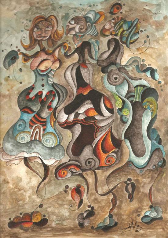 Salvador Rivillo, paintings