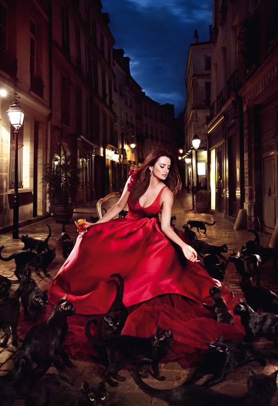Penélope Cruz for Campari's 2013 Calendar: Kiss Superstition Goodbye